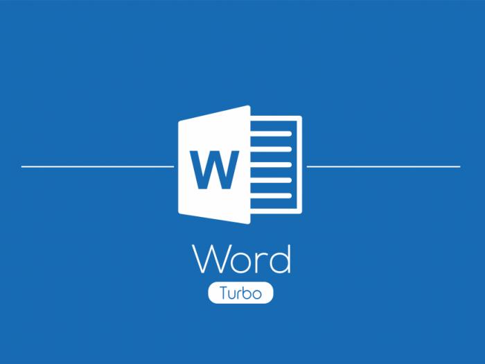 Računalniški tečaji - Delavnica Microsoft Office Word Turbo
