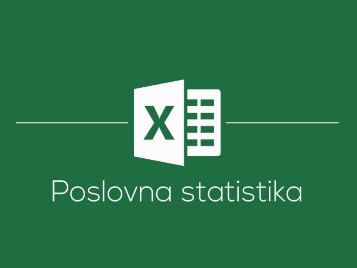 Delavnica Microsoft Office Excel poslovna statistika