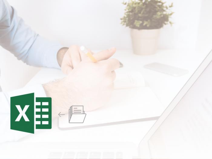 Microsoft Office Excel - Uvoz besedilne datoteke s podatki podatkovne baze v Excel