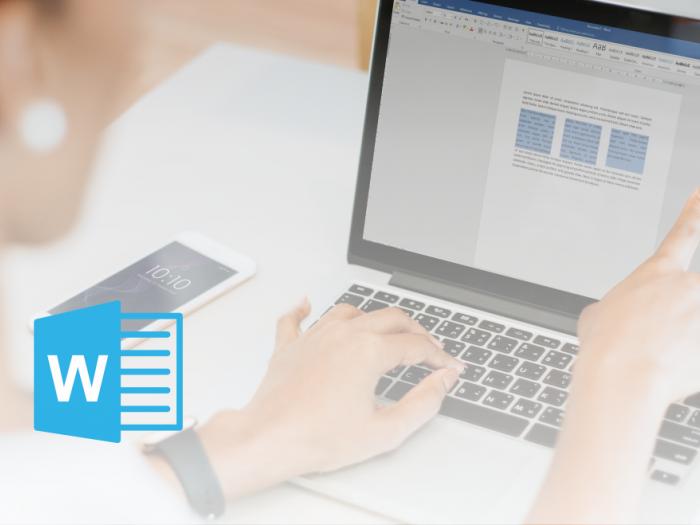 Microsoft Office Word - Stolpčna razporeditev besedila - članek